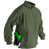 Helikon Jackal Soft Shell Jacket Olive Green