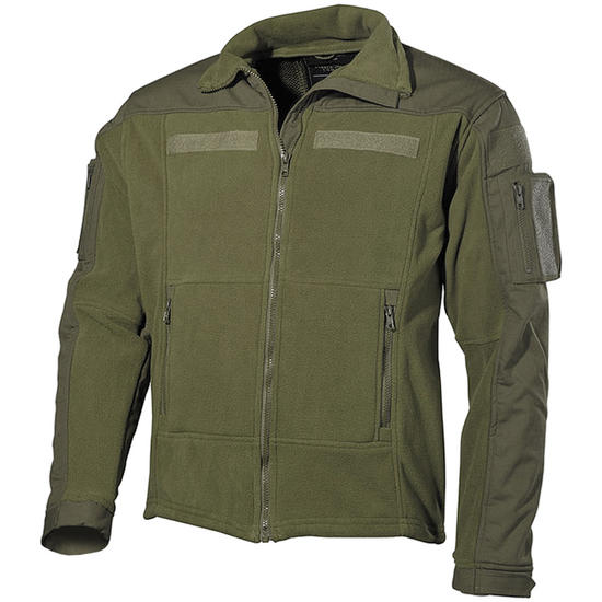 MFH US Combat Fleece Jacket Olive