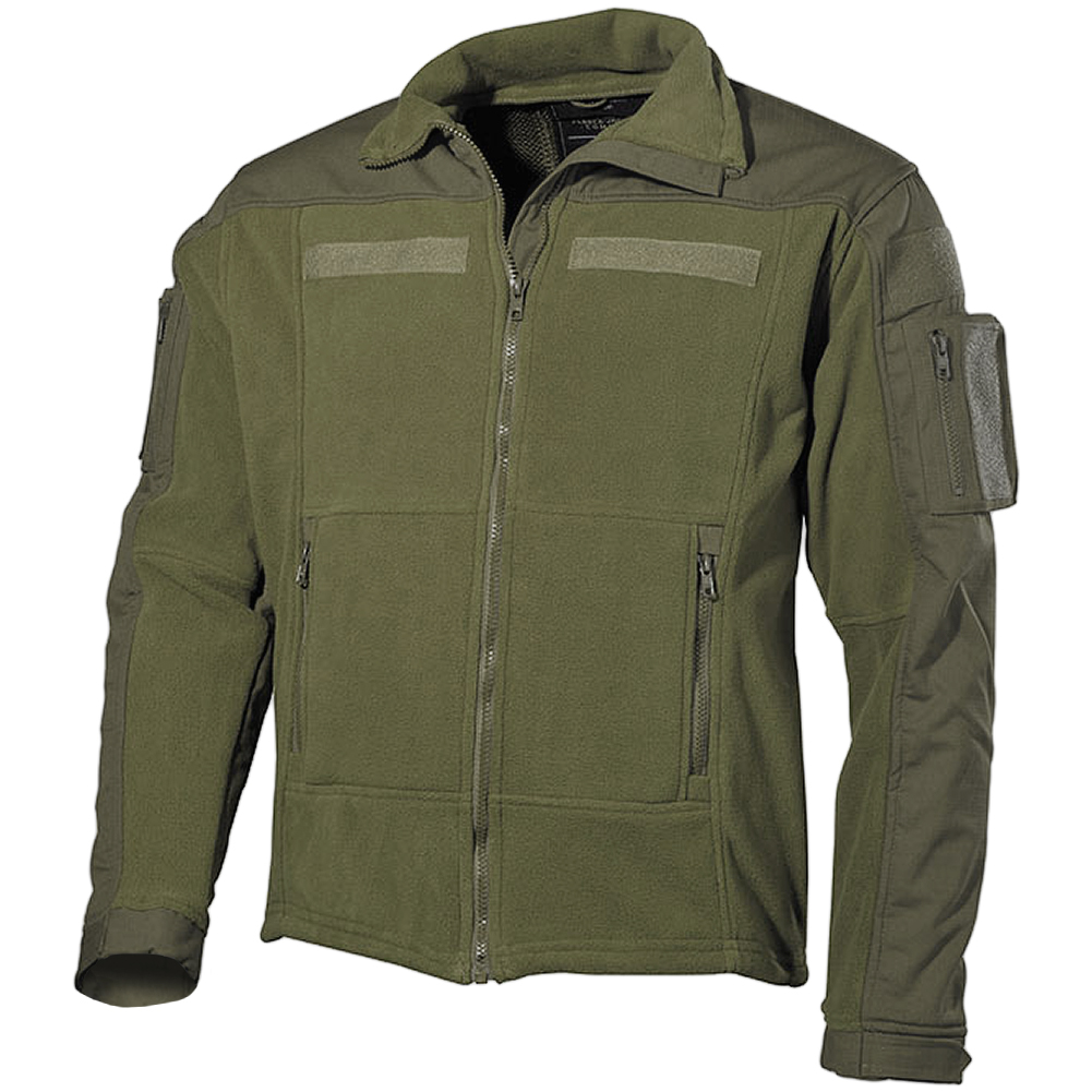 MFH US Combat Fleece Jacket Olive | Fleeces | Military 1st