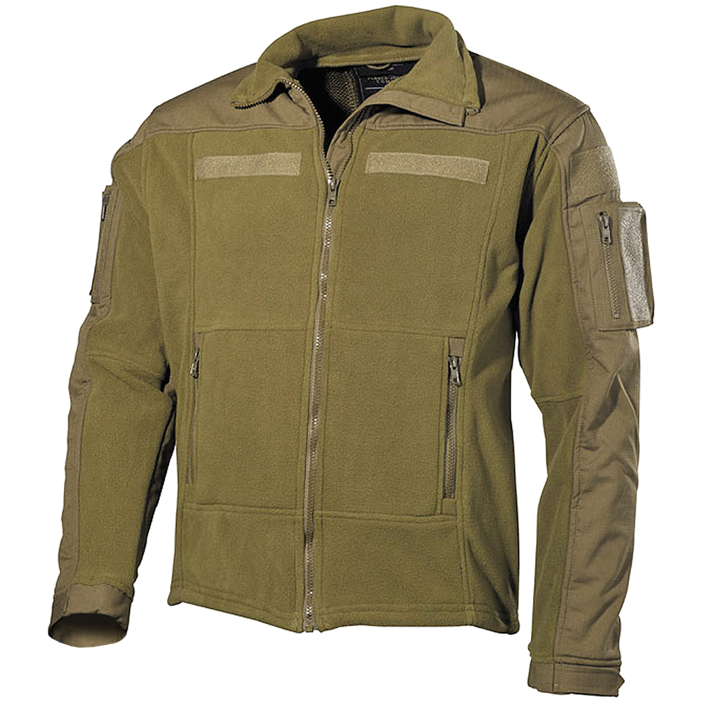 MFH US Combat Fleece Jacket Coyote | Fleeces | Military 1st