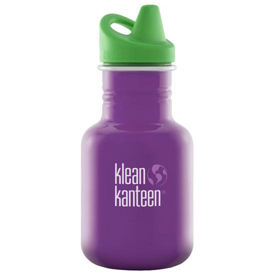 Kid Kanteen 355ml Bottle with Sippy Cap Sugar Plum