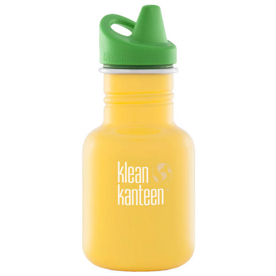 Kid Kanteen 355ml Bottle with Sippy Cap School Bus