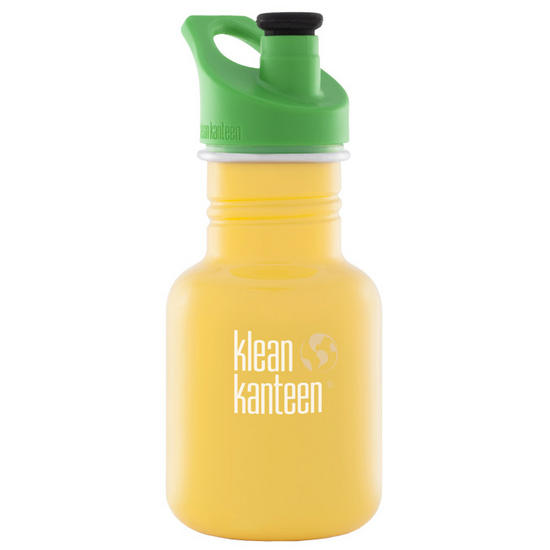 Kid Kanteen Sport 355ml Bottle with Sport Cap 3.0 School Bus