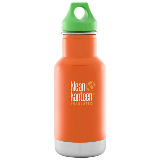 Kid Kanteen 355ml Classic Insulated Bottle Loop Cap Puffin Bill