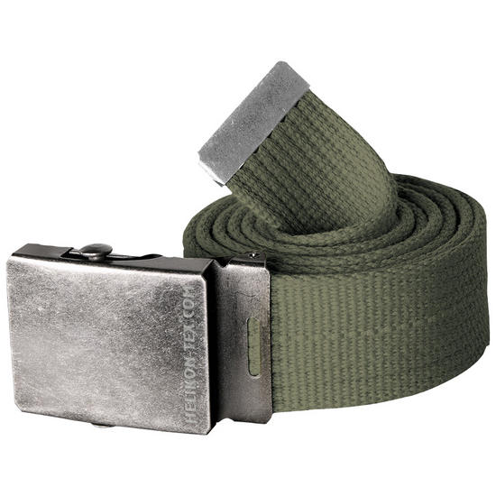 Helikon Canvas Belt Olive Green
