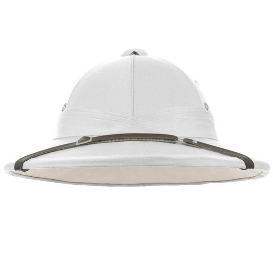 Mil-Tec French Tropical Helmet White