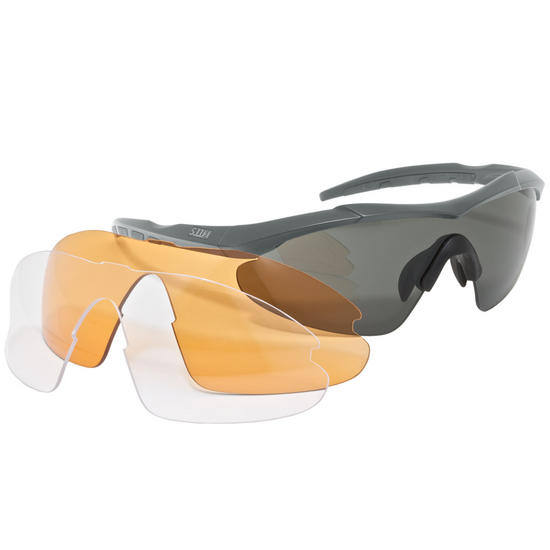 5.11 Aileron Shield Ballistic Glasses Charcoal