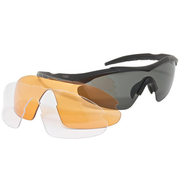 5.11 Aileron Shield Ballistic Glasses Matte Black