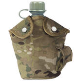 Mil-Tec US Style Canteen and Cup Multitarn