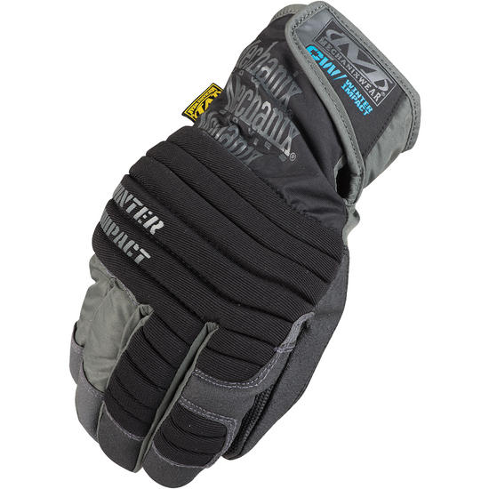Mechanix Wear Winter Impact Gloves Black