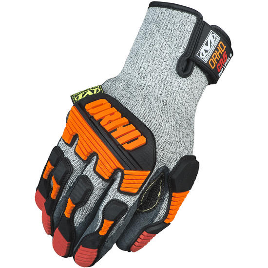 Mechanix Wear ORHD Knit CR5 Gloves Grey
