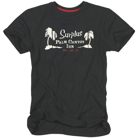 Surplus Palm Tee Black