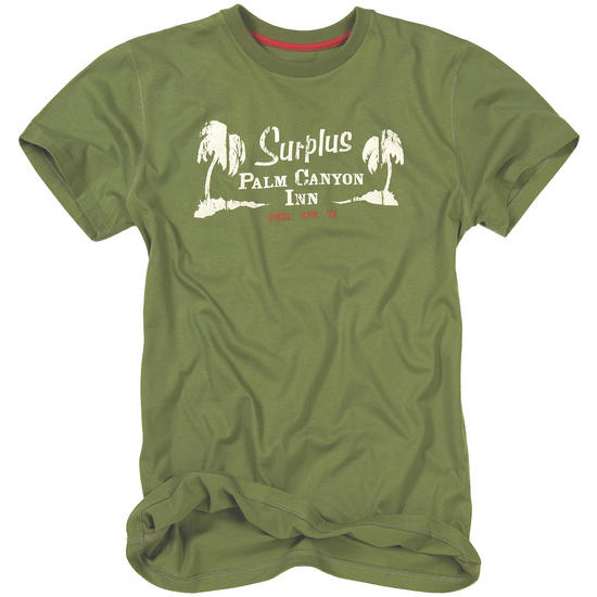 Surplus Palm Tee Olive