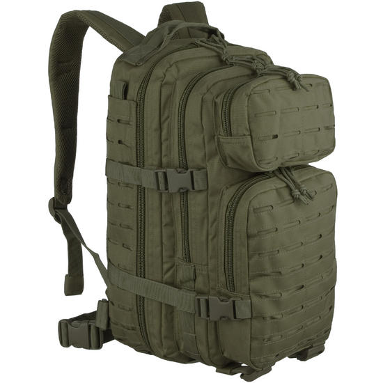 Mil-Tec US Assault Pack Small Laser Cut Olive