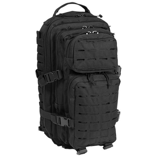 Mil-Tec US Assault Pack Small Laser Cut Black