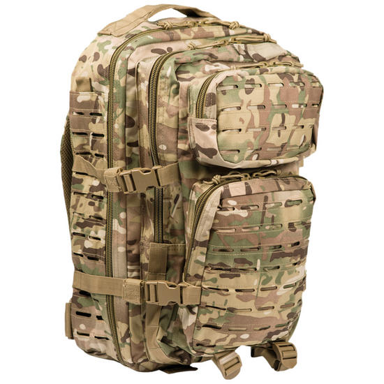 Mil-Tec US Assault Pack Large Laser Cut Multitarn