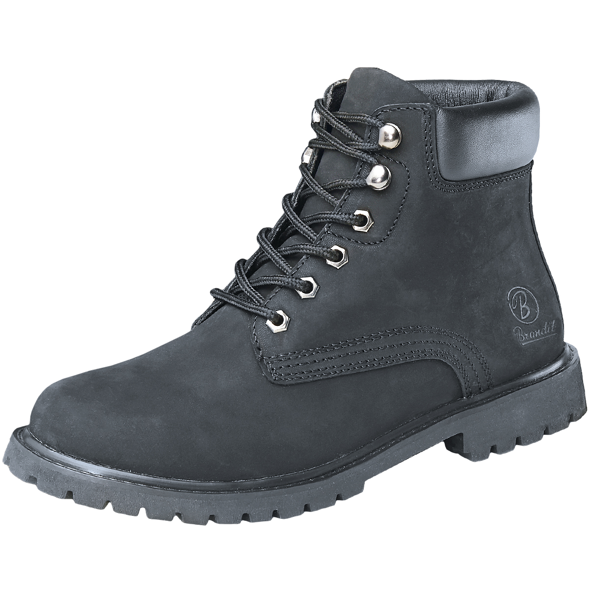 brandit kenyon mens security boots padded suede leather