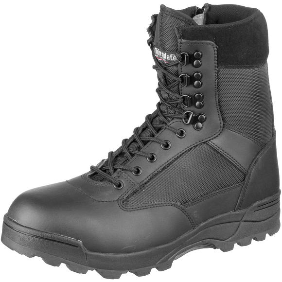 Brandit Tactical Side Zip Boots Black