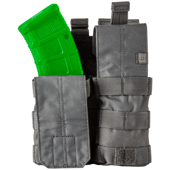 5.11 Double AK Bungee Cover Mag Pouch Storm
