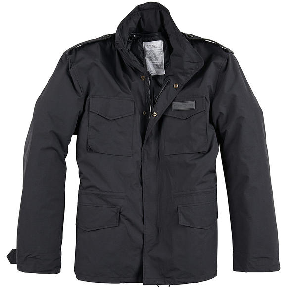 Surplus M65 Hydro US Field Jacket Black