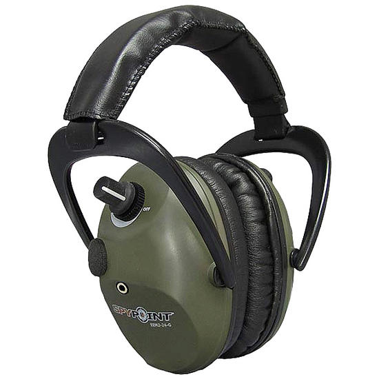 SpyPoint Electronic Ear Muffs EEM2-24 Green
