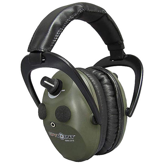 SpyPoint Electronic Ear Muffs EEM4-24 Green