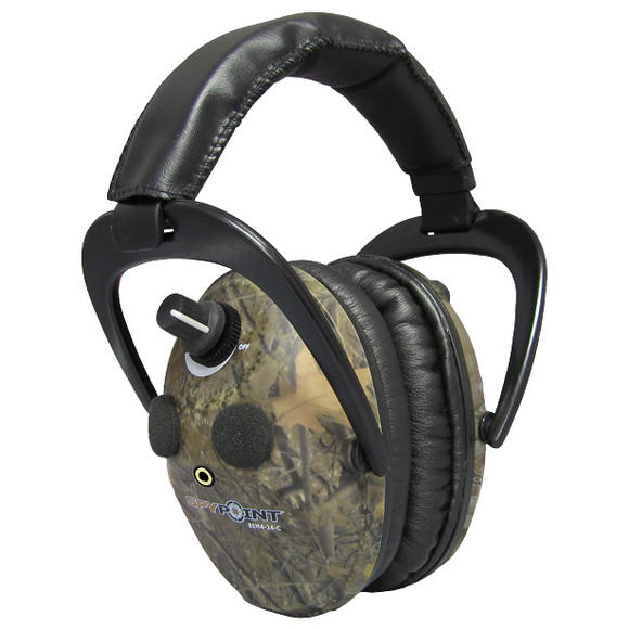SpyPoint Electronic Ear Muffs EEM4-24 Camo