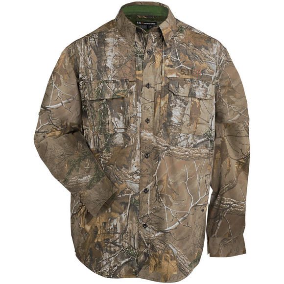 5.11 Taclite Pro Shirt Long Sleeve RealTree Xtra