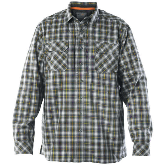 5.11 Flannel Long Sleeve Shirt Storm