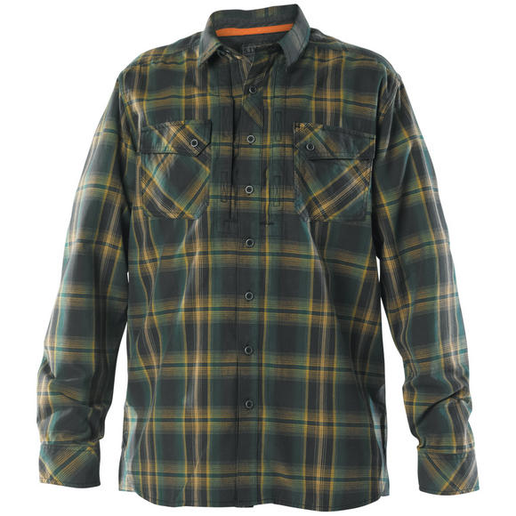 5.11 Flannel Long Sleeve Shirt Volcanic