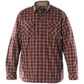 5.11 Flannel Long Sleeve Shirt Ox Blood