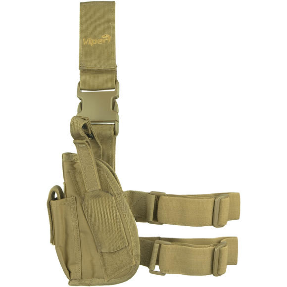 Viper Tactical Leg Holster Left Hand Coyote