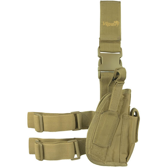 Viper Tactical Leg Holster Right Hand Coyote