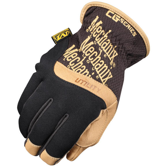 Mechanix Wear CG Utility Gloves Black/Brown