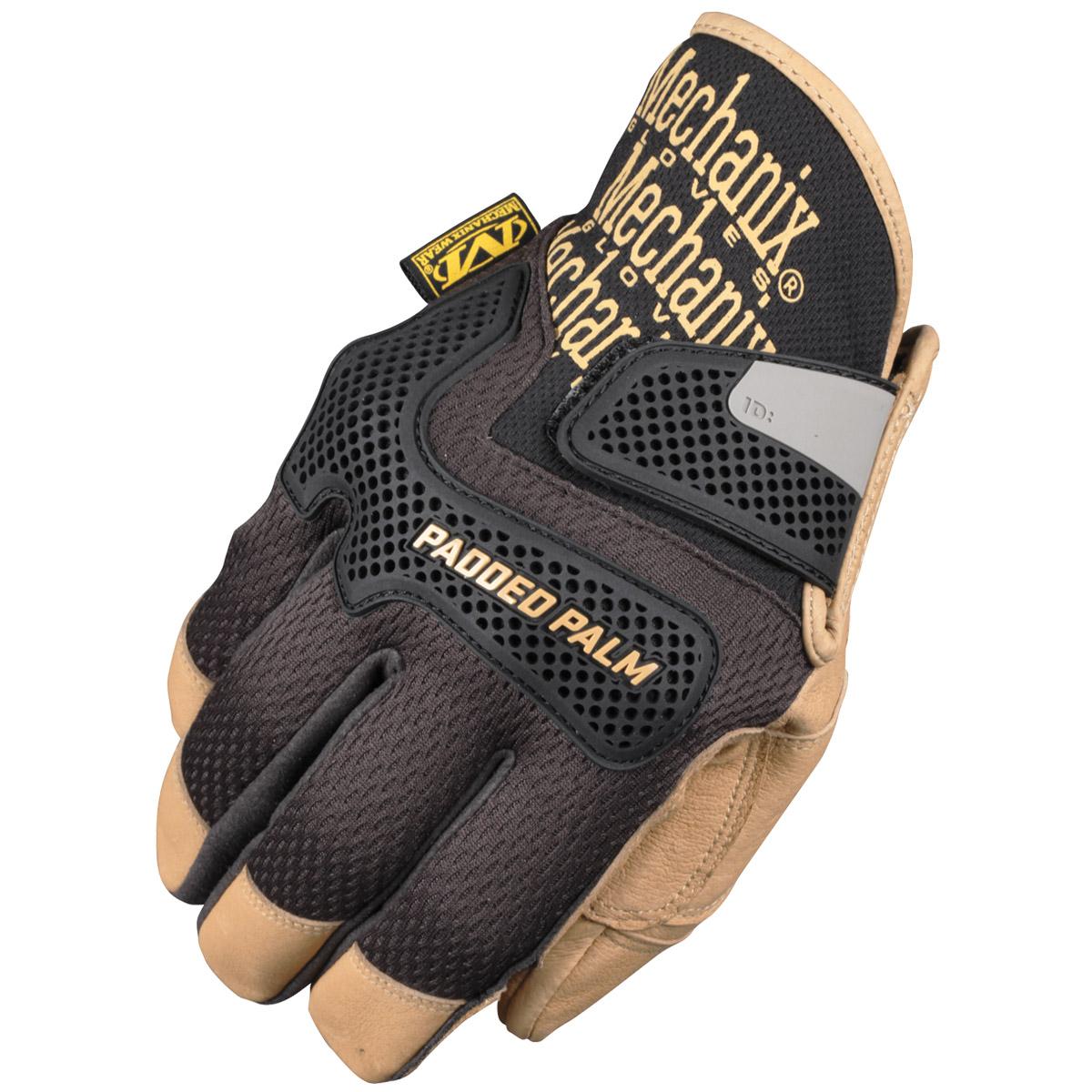Leather work gloves ebay - Mechanix Wear Cg Padded Palm Mens Genuine Leather