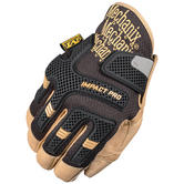 Mechanix Wear CG Impact Pro Gloves Black/Brown