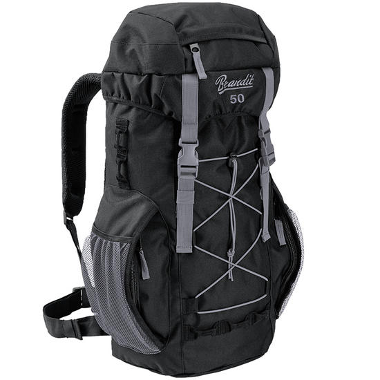 Brandit Aviator 50 Backpack Black