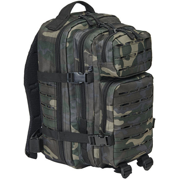 Brandit US Cooper Lasercut Rucksack Medium Dark Camo