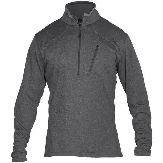5.11 Recon Half Zip Fleece Black Grey