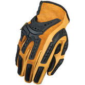 Mechanix Wear CG Full Leather Gloves Black/Brown