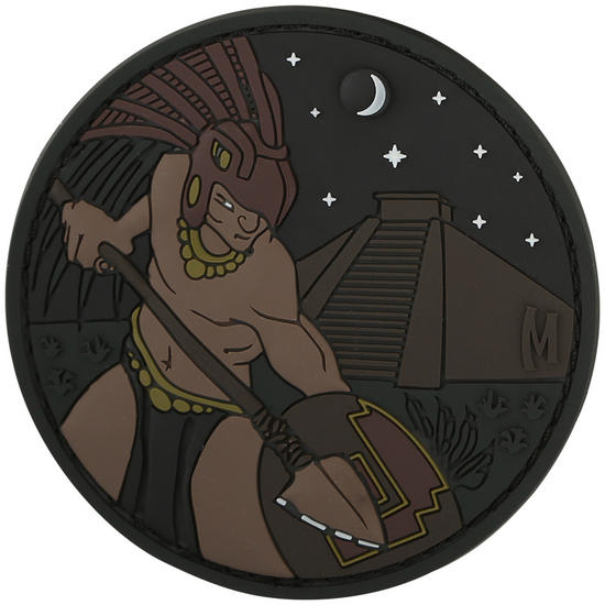 Maxpedition Aztec Warrior (Glow) Morale Patch