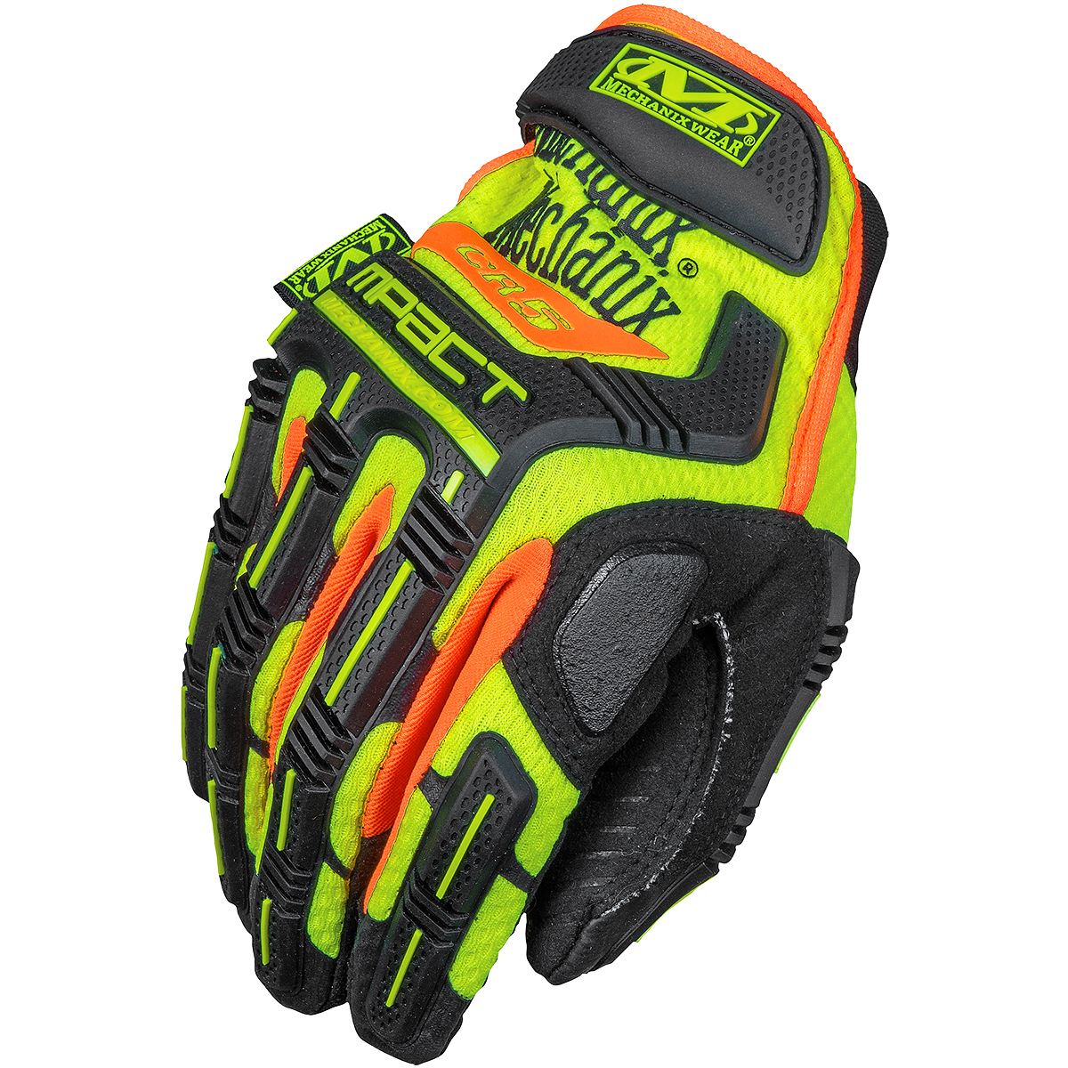 Mens yellow gloves - Mechanix Wear Cr5 M Pact Impact Protection Gloves