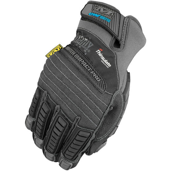 Mechanix Wear Winter Impact Pro Gloves Black