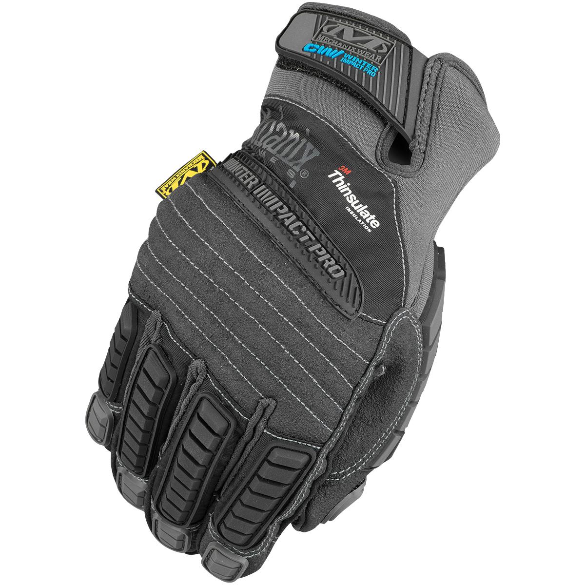 Mechanix Wear Winter Impact Pro Gloves Cold Weather Warm