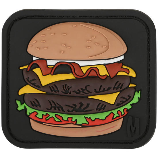 Maxpedition Burger (Full Colour) Morale Patch