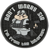 Maxpedition Don't Worry Sir (SWAT) Morale Patch