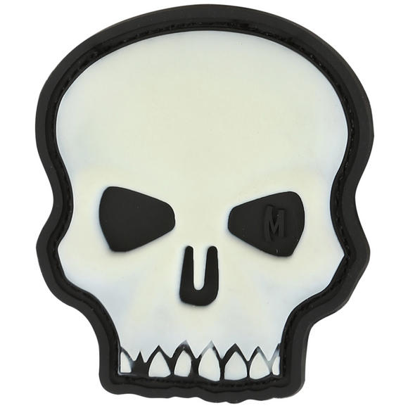 Maxpedition Hi Relief Skull (Glow) Morale Patch