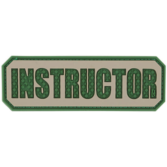 Maxpedition Instructor (Arid) Morale Patch