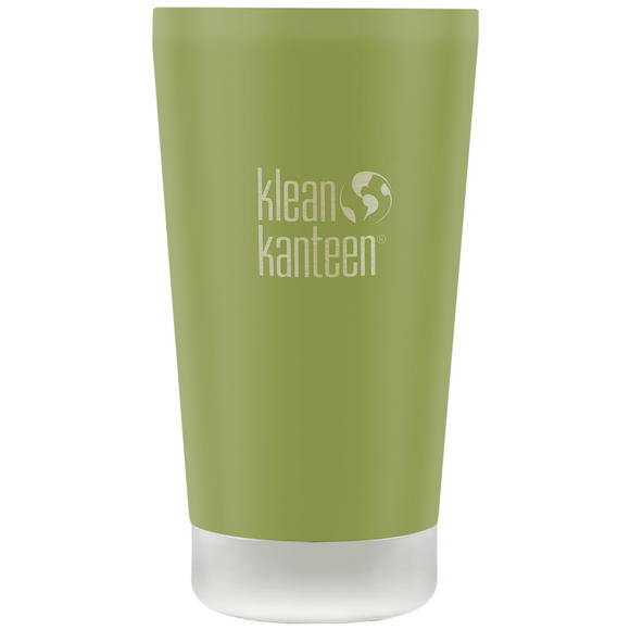 Klean Kanteen 473ml Tumbler Vacuum Insulated Bamboo Leaf