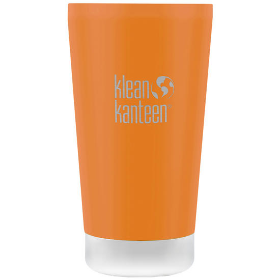 Klean Kanteen 473ml Tumbler Vacuum Insulated Canyon Orange